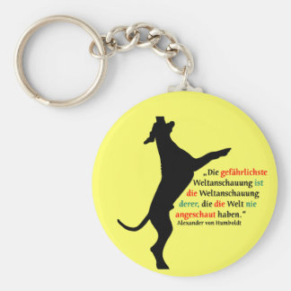 World view Dogge Keychains