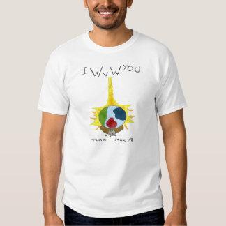 World vs world t-shirts