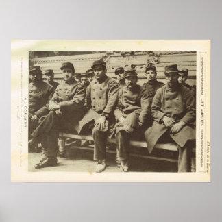 World War 1, France, Amputees Poster