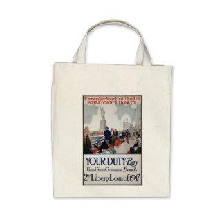 World War 1 US Propaganda Poster Bag