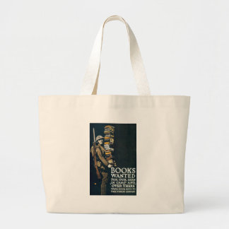 World War 2 Books Wanted Canvas Bags