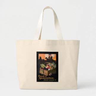World War 2 Don't Waste Food Tote Bags