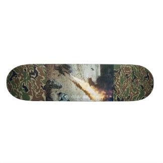 world war 2 flamethrower deck skateboard