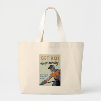 World War 2 Get Hot Tote Bags