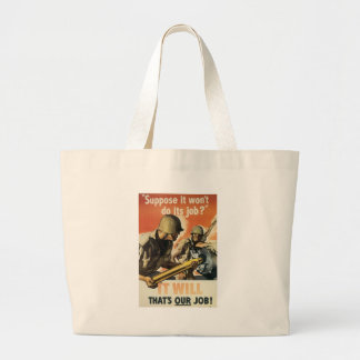 World War 2 It Will Canvas Bags