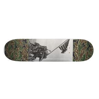 world war 2 Iwo Jima marines skate deck