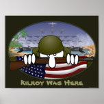 World War 2 Kilroy Poster 1