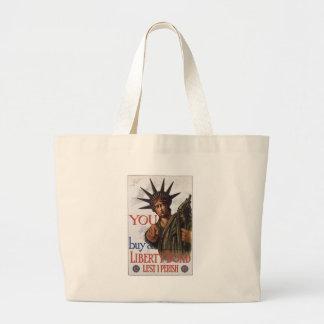 World War 2 Liberty Bonds Canvas Bags
