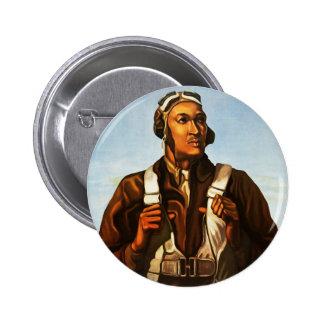 World War 2 Pilot Button