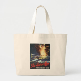 World War 2 See Action Now Tote Bag