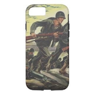 World War 2 Soldiers iPhone 7 Case