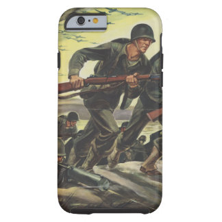World War 2 Soldiers Tough iPhone 6 Case