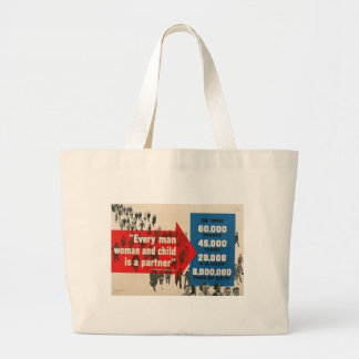 World War 2 Support Jumbo Tote Bag