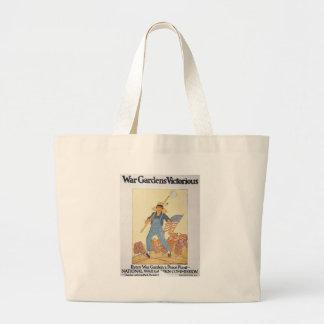 World War 2 War Garden Canvas Bag