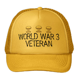 World War 3 Veteran Cap