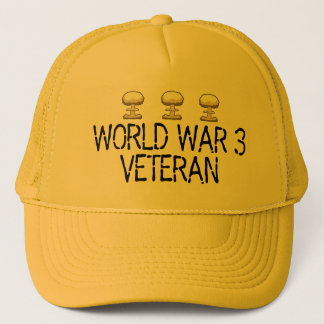World War 3 Veteran Trucker Hat