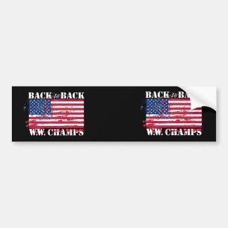 World War Champions Bumper Sticker