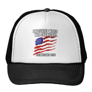 World War Champions Hats