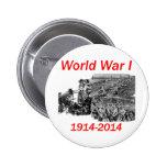 World War I (1914-2014) 6 Cm Round Badge