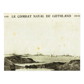 World War I, Battle of Jutland Postcard