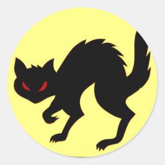 World War II AirCraft Black Cat Sticker Art