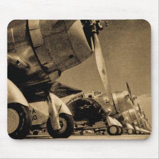 World War II Airplanes Douglas SBD Dauntlesses Mouse Mat