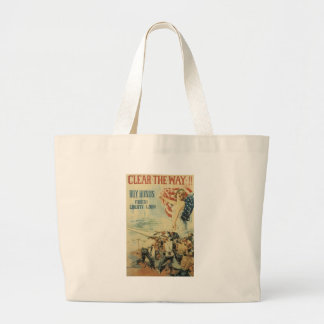 World War II Clear The Way Bags