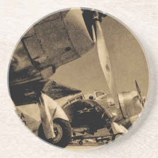 World War II Douglas SBD Dauntless Bomber Planes Coaster