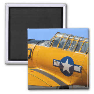 world war II fighter aircraft Square Magnet
