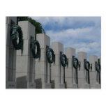 World War II Memorial Postcard