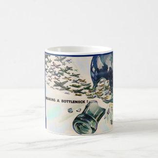 World War II military aviation breaking bottleneck Coffee Mug
