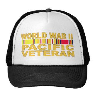 World War II Pacific Veteran Trucker Hat