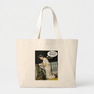 World War II Rosie Factory Worker Design Jumbo Tote Bag