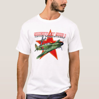 WORLD WAR II RUSSIAN YAK FIGHTER SHIRT