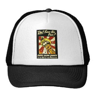 World War II - Vintage - American Labor Mesh Hat