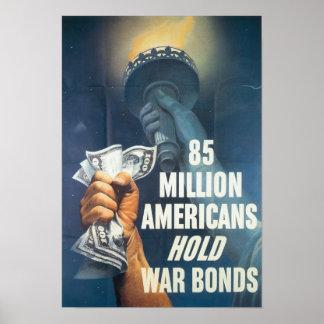 World War II War Bonds Print