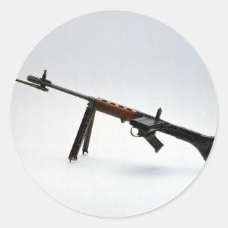World War ii World War weapons,NRA Guns Military D Round Sticker