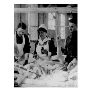 World War One Nurse Field Hospital Postcard