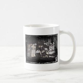 World War One Nurses Aid Station Basic White Mug