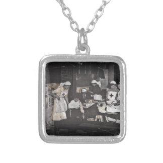 World War One Nurses Aid Station Custom Necklace