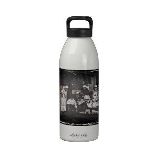 World War One Nurses Aid Station Drinking Bottles
