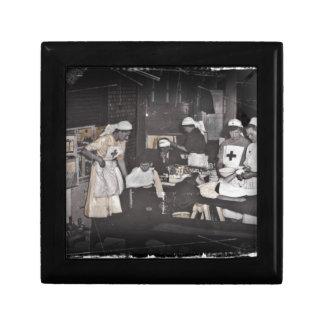 World War One Nurses Aid Station Keepsake Boxes