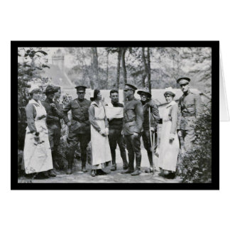 World War One Nurses Greeting Card