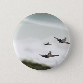 World War Two Aeroplanes 6 Cm Round Badge