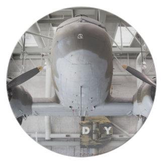 World War Two C-47 Dakota transport aircraft, Plate