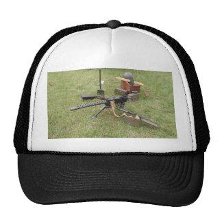 World War Two Machine Gun Hats