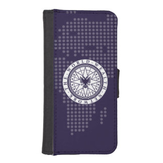World Wealth Network iPhone 5/5S Wallet Case