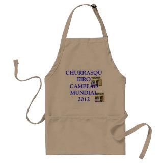 WORLD-WIDE CHAMPION CHURRASQUEIRO 2012 STANDARD APRON