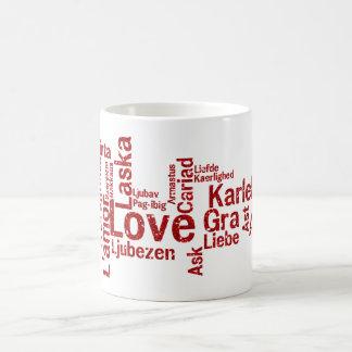 World Wide Love - How the world says Love Basic White Mug