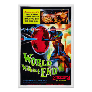 World Without End Vintage Movie Poster